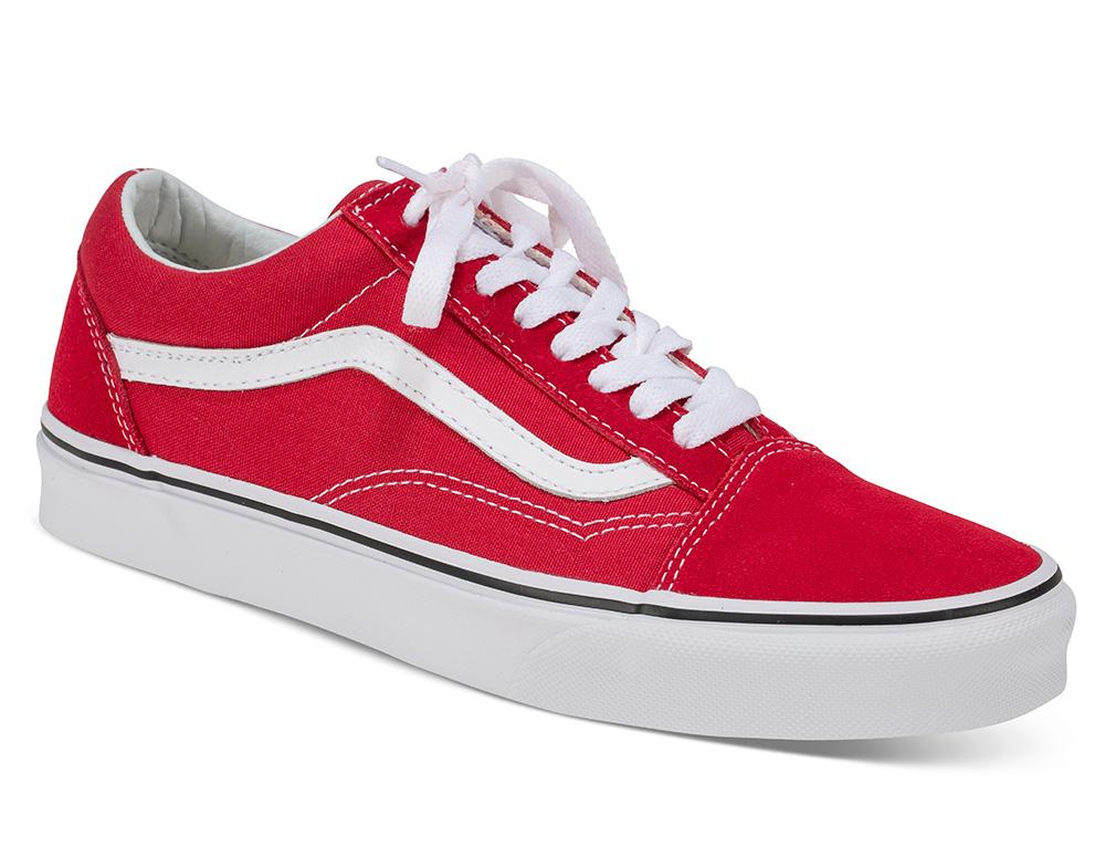 Røde vans sko Almas ønskerSko, Vans og Rød Lille Vinkel Sko